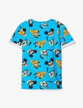 Camiseta Name it Disney Azul Mini Niño