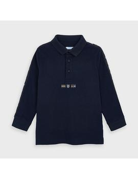 Polo Mayoral Cintas Marino Mini Niño