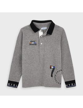 Polo Mayoral M/l Granito OUT DOOR Mini Niño