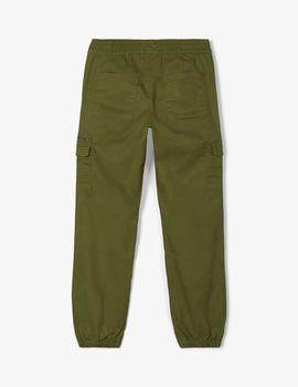 Pantalon Cargo Name it Verde kids Unixex
