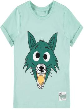 Camiseta Name It Lobo Gafas Intercambiables Verde