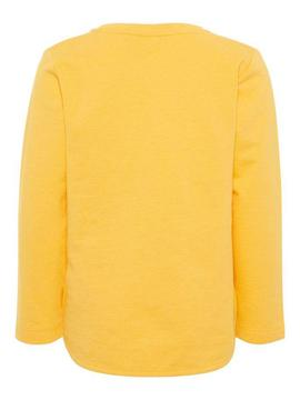 Sudadera Name It Cereza Amarillo Baby Niña