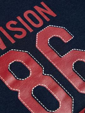 Sudadera Division 86 Marino Name it