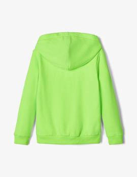 Sudadera Name it Oversize Verde Fuor Kids Unisex