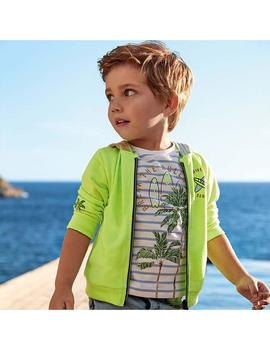 Set Camisetas Mayoral M/C Windsurf Verde Mini Niño