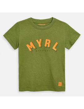 Camiseta Mayoral MYRL Verde Mini Niño